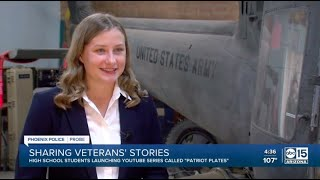 High school students prove patriotism is not dead with creative new way to tell veterans' stories
